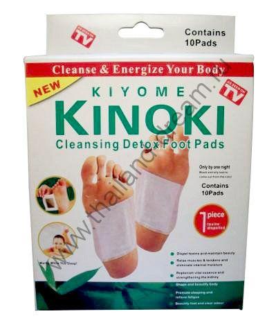 Детокс-пластыри для стоп Kinoki