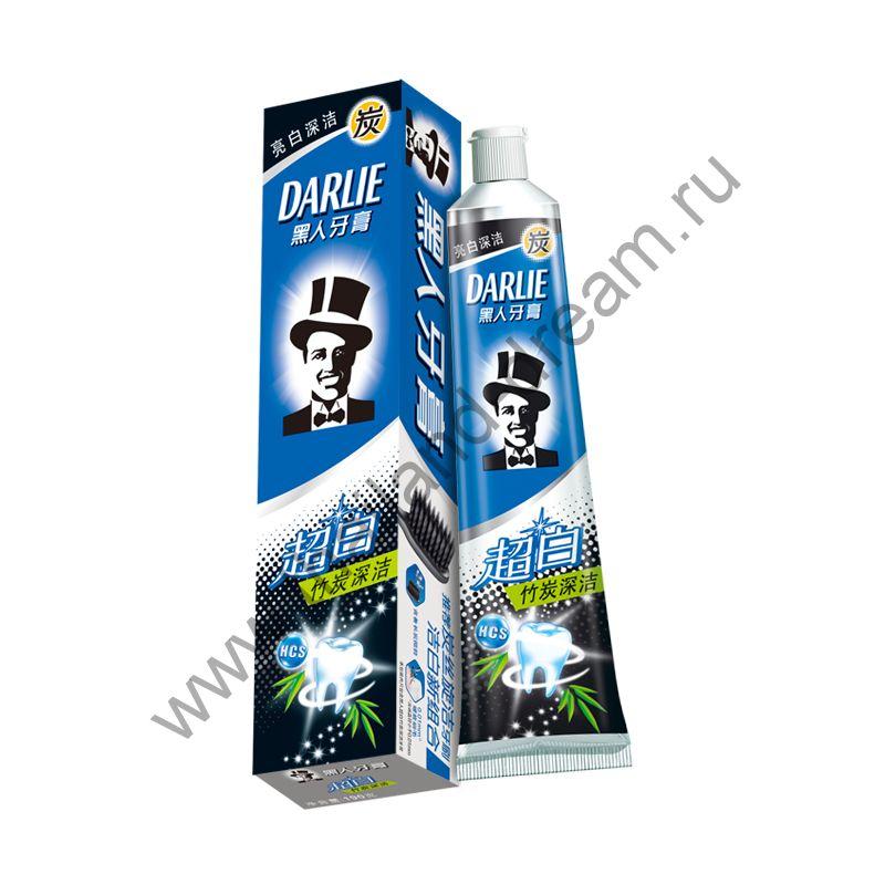 """Зубная паста """"Сияние белизны и бамбуковый уголь"""" Darlie"""